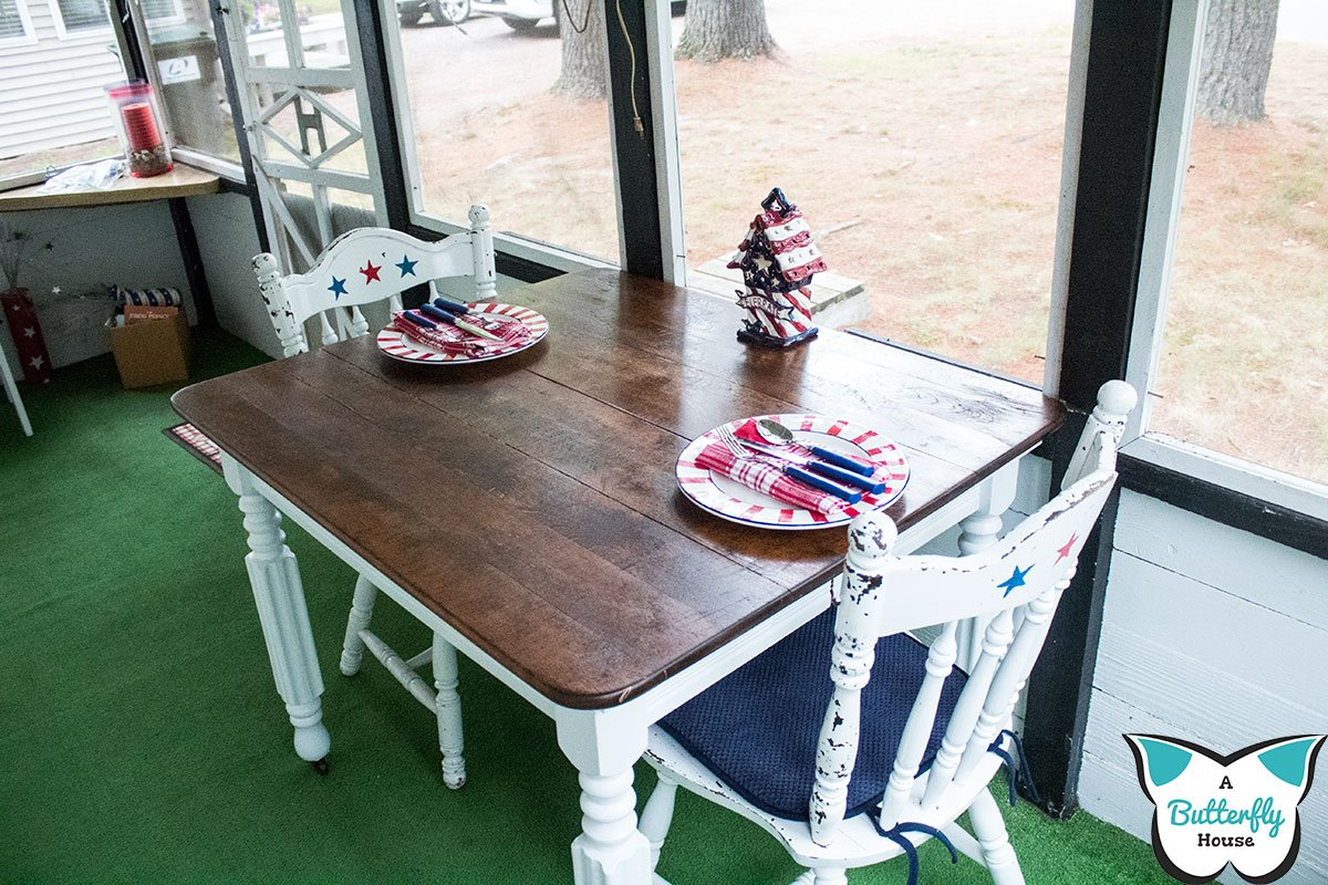 Don't make these mistakes when remodeling furniture! #DIY #DIYProjects #BeforeAndAfter #Furniture #Table #FurnitureFlips #AButterflyHouse