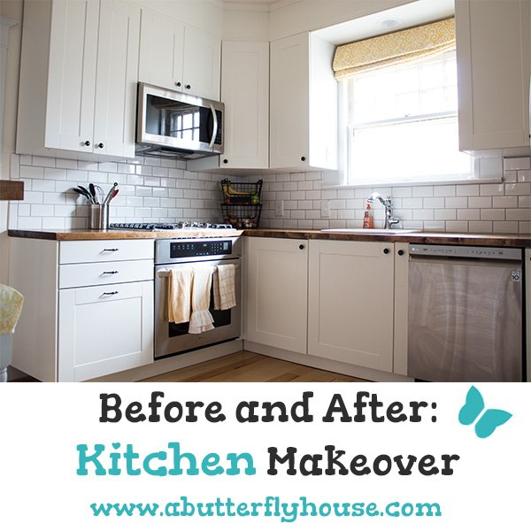 Kitchen Transformation Before And After: Before And After: Kitchen Makeover