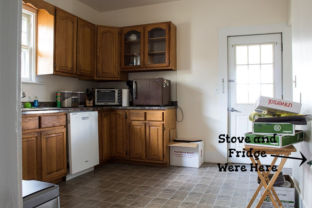 Need to remodel a kitchen on a budget? See how I completely DIY remodeled my kitchen, cabinets and appliances included, for under $10,000. #AButterflyHouse #HomeImprovement #Kitchen #KitchenRemodel #BeforeandAfter #DIY #DIYProjects #Budget