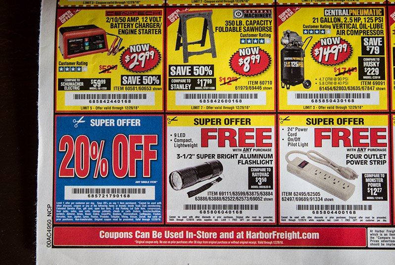 If you're doing all your shopping at Home Depot and Lowes, you're wasting money. Come see how Harbor Freight can help you save, what you should be buying, and what tools you should avoid! #AButterflyHouse #savingmoney #powertools #tools #budget
