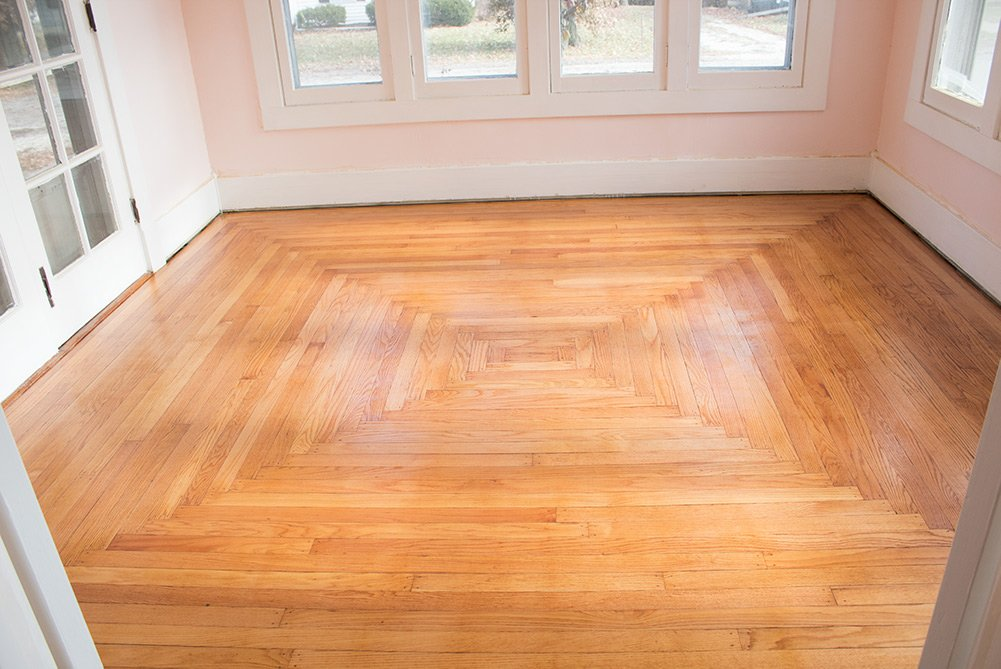 Refinishing your wood floors not going well? Same. Come see how I made a bad sander work! #diy #diyprojects #HomeImprovement #WoodFloors #AButterflyHouse