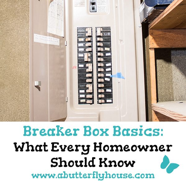 Own a home? Here are the things you should absolutely know about your circuit breaker panel! #homeownership #homeimprovement