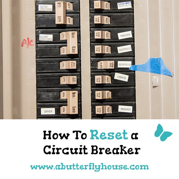 Know how to reset your circuit breaker in an emergency with this straightforward tutorial. #HomeImprovement