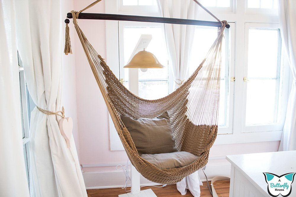 Hammock Chair From Plaster Ceilings