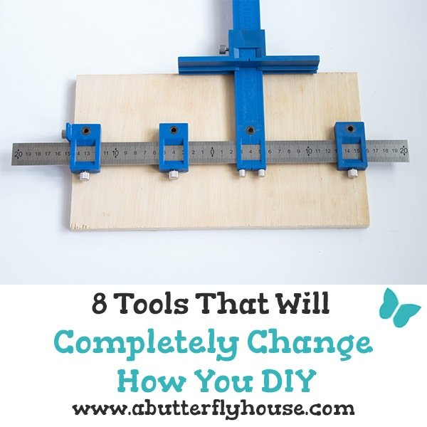 These eight tools are fantastic things to keep around the shop. All of the tools are beginner friendly, and some are under $5! #homeimprovement #tools