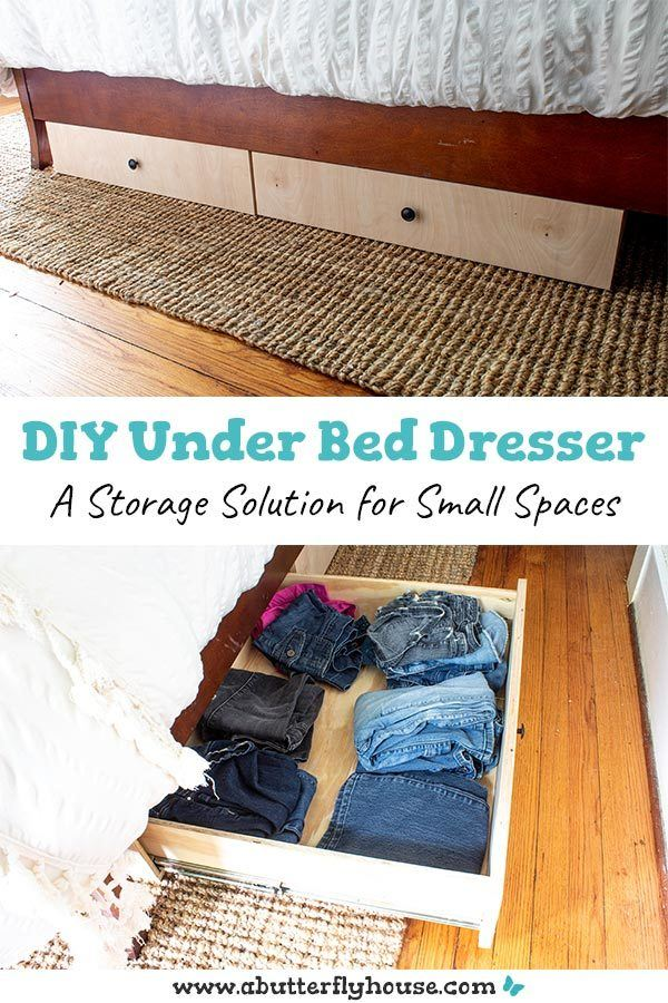 Diy Under The Bed Storage Drawer Plans A Erfly House