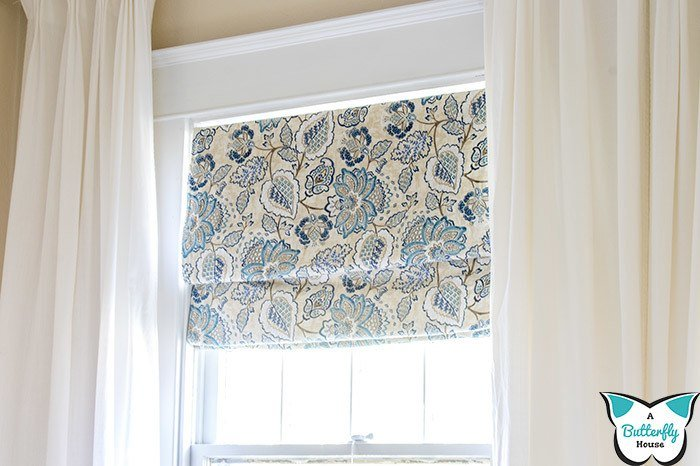 How To Make Diy Roman Shades A Butterfly House
