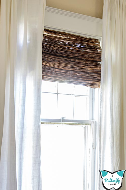 Learn to make your own DIY Bamboo shades with this complete photo and video tutorial! #WindowTreatments #DIY