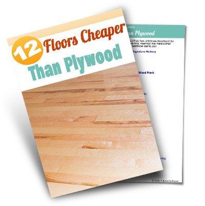 Plywood Floors Mockup