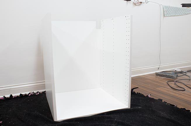 Ikea cabinets are actually pretty easy to install, and you'll save hundreds of dollars on your kitchen remodel if you do it yourself! Come see the step-by-step photo and video tutorial to learn how to install Ikea Sektion cabinets! #kitchen #Ikea