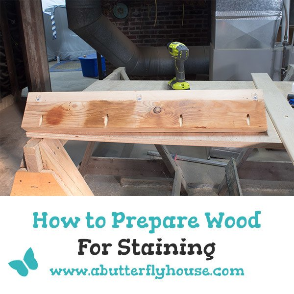 There's actually a lot you should be doing to prepare wood to be stained... are you doing it? #woodworking #diy