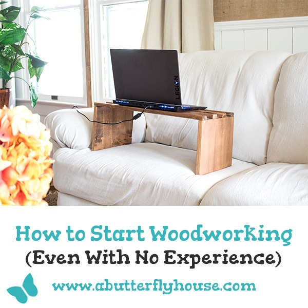 Learn how to start woodworking with this in-depth guide of where to find classes, and how to find affordable tools! #woodworking