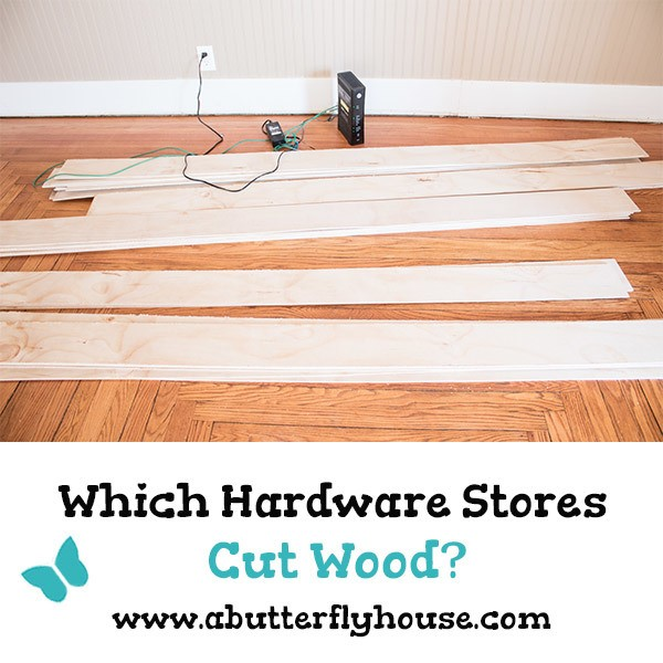 Need to buy wood, and not sure if Home Depot or Lowes will cut it for you? Come find out which home improvement stores cut wood! #woodworking #diy