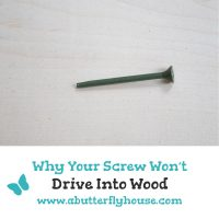 Can't get your screw to drive into the wood? Come find out all the possible reasons why, and all the easy fixes!